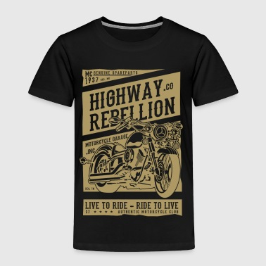 HIGHWAY REBELLION - Toddler Premium T-Shirt