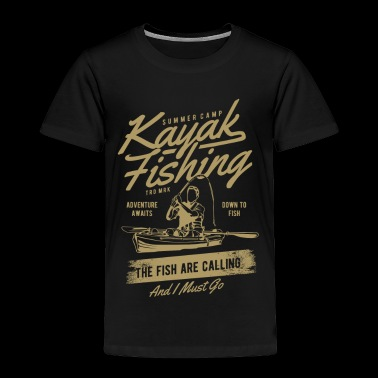 KAYAK FISHING - Toddler Premium T-Shirt