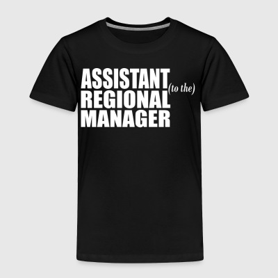 Assistant To The Regional Manager - Toddler Premium T-Shirt