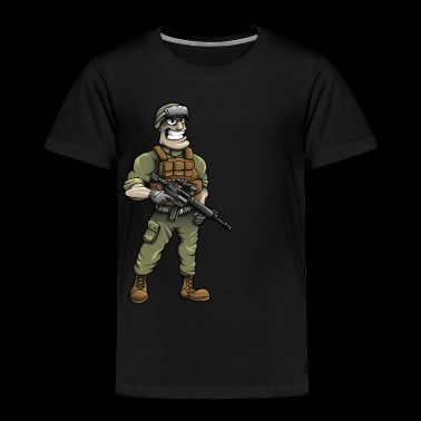 Soldier - Toddler Premium T-Shirt