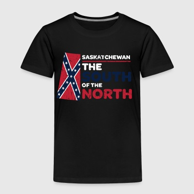 Saskatchewan: the South of the North - Toddler Premium T-Shirt
