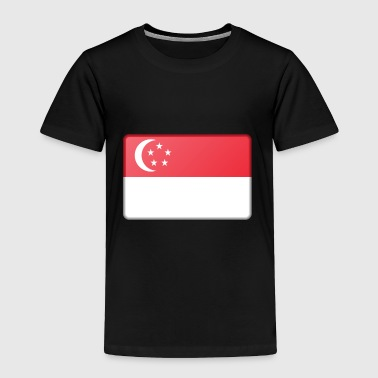Singapore Flag - Toddler Premium T-Shirt