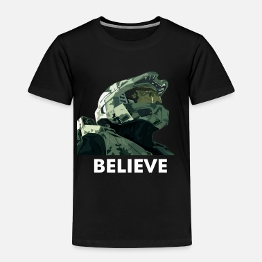 Halo BELIEVE - Toddler Premium T-Shirt