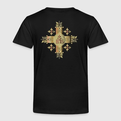 ORNATE CROSS - Toddler Premium T-Shirt