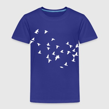 Flock of Birds - Toddler Premium T-Shirt