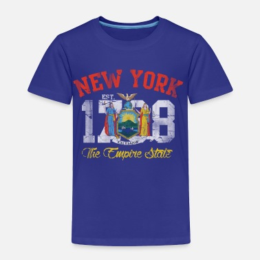 State New York Empire State - Toddler Premium T-Shirt