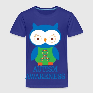 Autism Awareness Owl - Toddler Premium T-Shirt