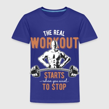 Set Gym Set - Toddler Premium T-Shirt