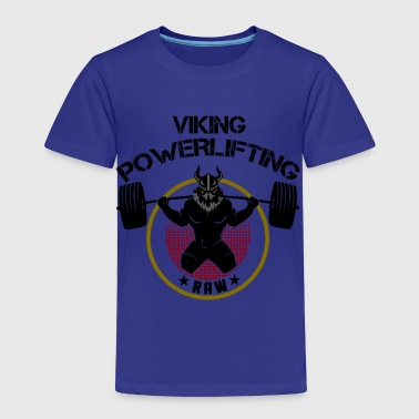 Viking Squat Bodybuilding Powerlifting Lifting Gym - Toddler Premium T-Shirt