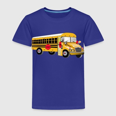 Personalized Love Yellow School Bus Driver T-shir - Toddler Premium T-Shirt