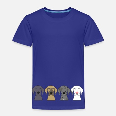 Great Dane Four Great Dane Heads - Toddler Premium T-Shirt