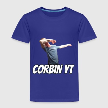 Corbin YT dab shirt - Toddler Premium T-Shirt