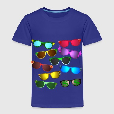 sunglasses - Toddler Premium T-Shirt