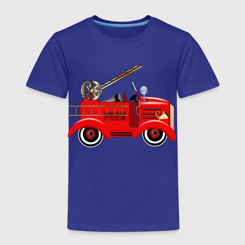 Fire Truck - Toddler Premium T-Shirt