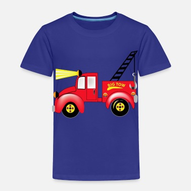 Toy Tow Truck - Toddler Premium T-Shirt