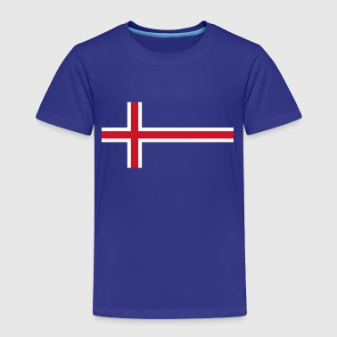 Flag Of Iceland ICELAND FLAG - Toddler Premium T-Shirt