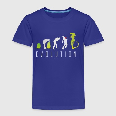 Evolution of Alien - Toddler Premium T-Shirt