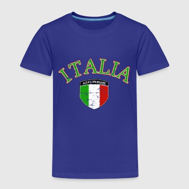 Italian Azzurri designs - Toddler Premium T-Shirt