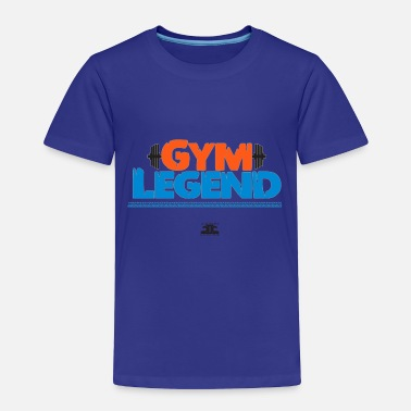 Gym Gym Legend Orange - Toddler Premium T-Shirt