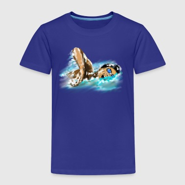 swimmer - Toddler Premium T-Shirt