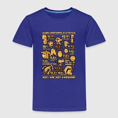 Alien Statistics - Toddler Premium T-Shirt