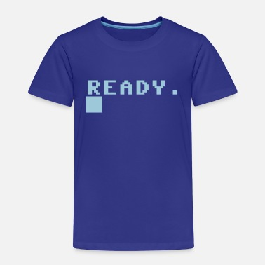 Command Prompt READY COMPUTER PROMPT - Toddler Premium T-Shirt