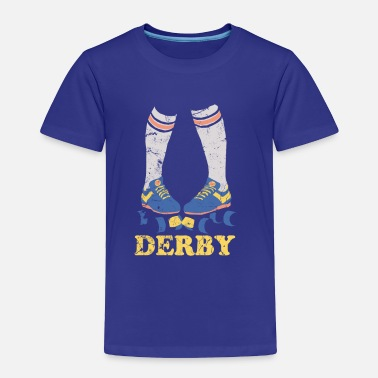 Derby Roller Derby  - Toddler Premium T-Shirt