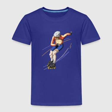 Speedskating speedskating - Toddler Premium T-Shirt
