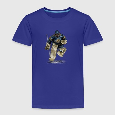 Funny Hockey Goalkeeper - Toddler Premium T-Shirt