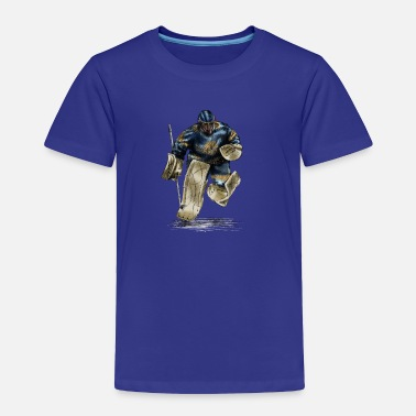 Hockey Hockey Goalkeeper - Toddler Premium T-Shirt