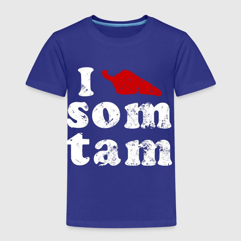 I Chili (Love) Som Tam | Vintage - Toddler Premium T-Shirt