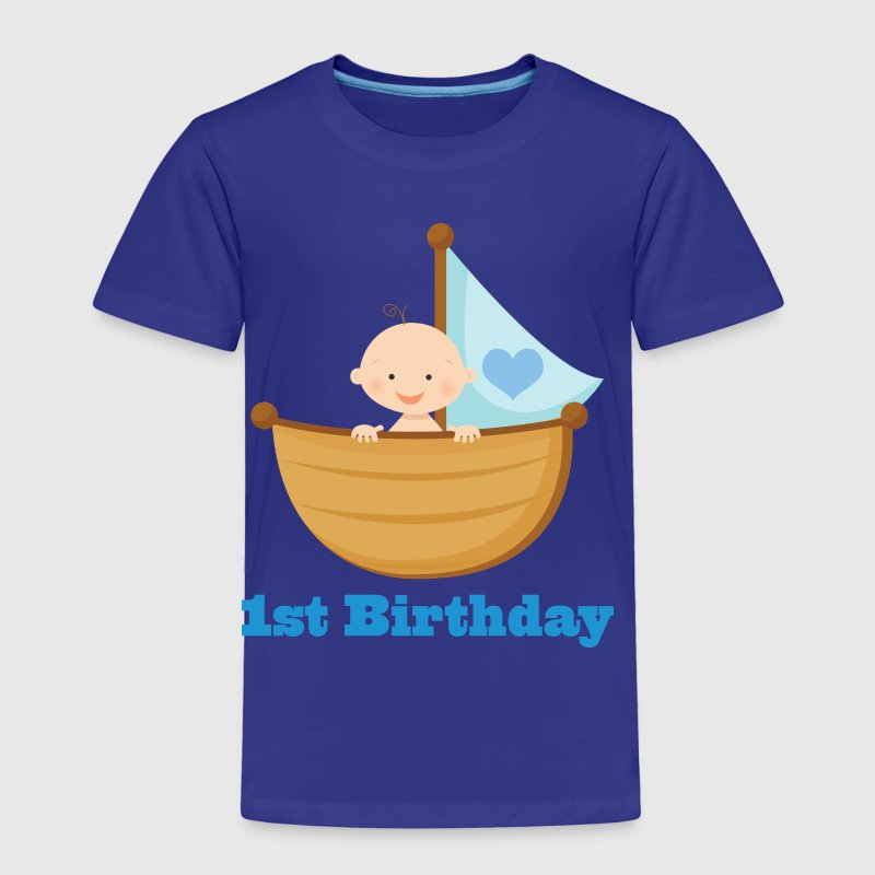 1st Birthday Boy - Toddler Premium T-Shirt