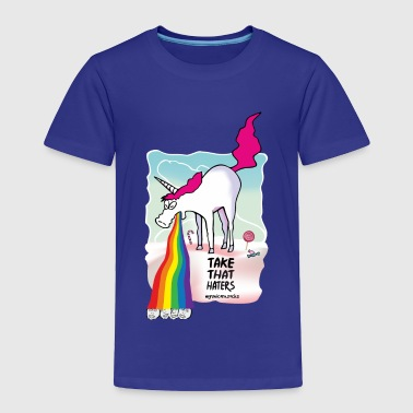 Unicorn Vomiting Rainbow Unicorn vomiting rainbow - Toddler Premium T-Shirt