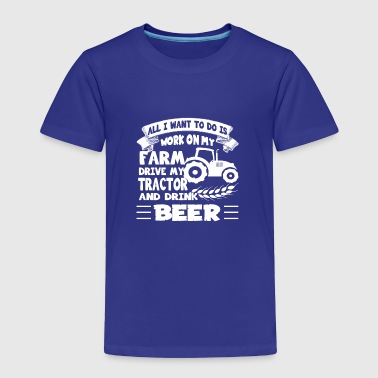 Farmer FARMER PROUD TEE SHIRT - Toddler Premium T-Shirt