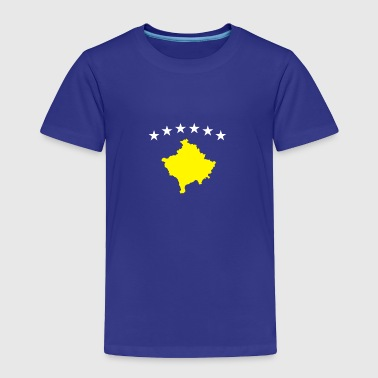 Kosovo symbol shirt for albanian - Toddler Premium T-Shirt