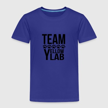 Yellow Lab Lover Team Yellow Lab - Toddler Premium T-Shirt