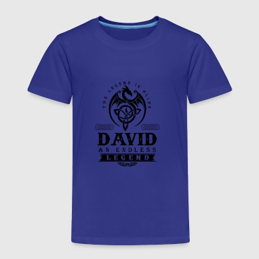 DAVID - Toddler Premium T-Shirt