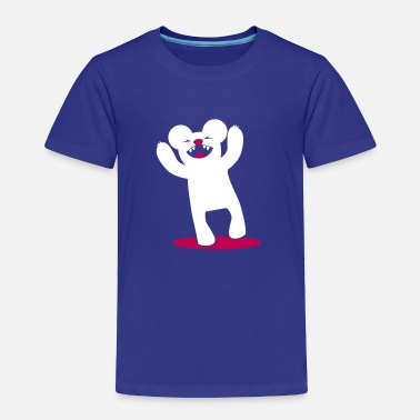 The Teddy Bear Picnic scary bear roaring with arms up kawaii! - Toddler Premium T-Shirt