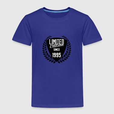 Limited Edition Since 1995 - Toddler Premium T-Shirt