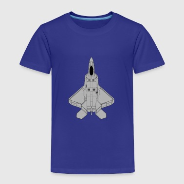 Fighter jet - Toddler Premium T-Shirt