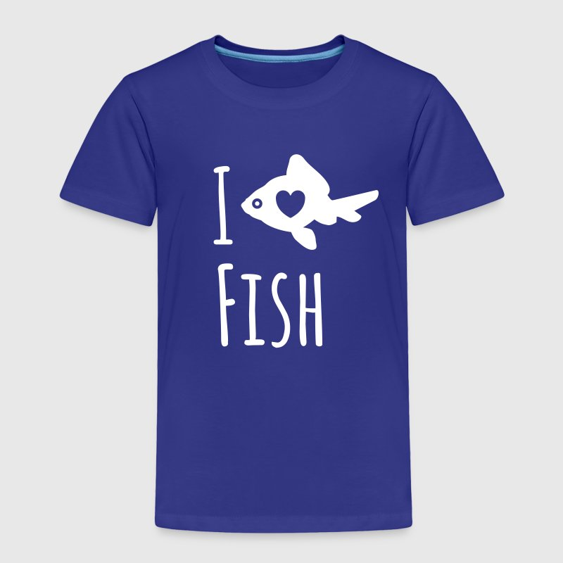 I love Fish T-Shirt - Toddler Premium T-Shirt