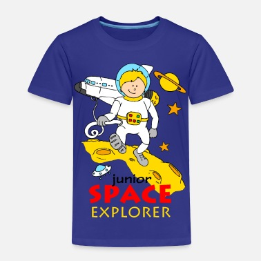 Science Junior Space explorer - Toddler Premium T-Shirt