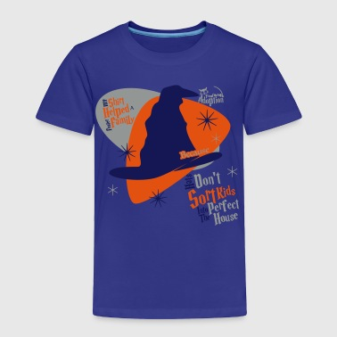 ...Because Hats Don't Sort Kids... (Blue) - Toddle - Toddler Premium T-Shirt