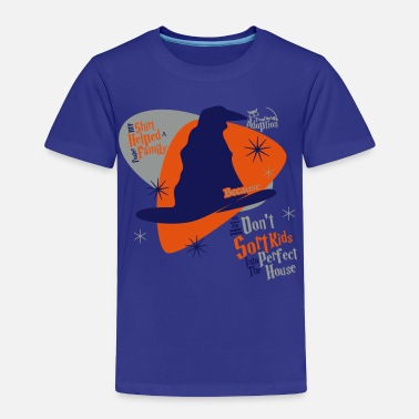 Care ...Because Hats Don't Sort Kids... (Blue) - Toddle - Toddler Premium T-Shirt