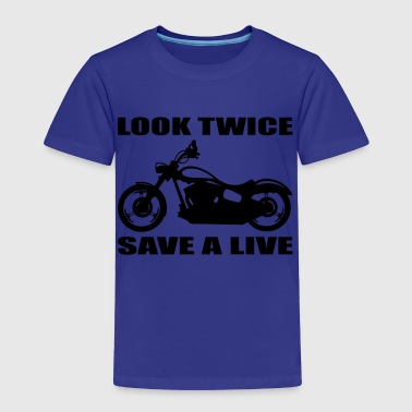 Look twice save a life 01 - Toddler Premium T-Shirt