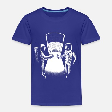 Neil Armstrong WHO'S THE FIRST? - Toddler Premium T-Shirt
