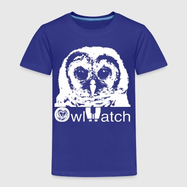 owlet_white_on_dark - Toddler Premium T-Shirt