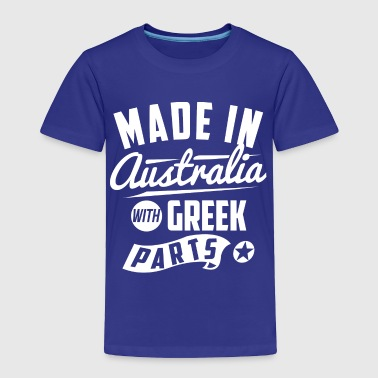 Australian Greek - Toddler Premium T-Shirt