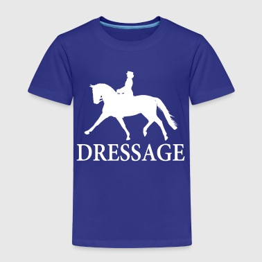 Dressage Horse - white - Toddler Premium T-Shirt