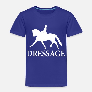 Dressage Dressage Horse - white - Toddler Premium T-Shirt